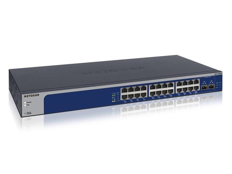 "Switch 24-Port 19"" 10GE XS724EM 2xSFP 10G"