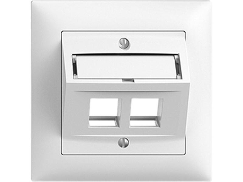 UP Rahmen Keystone Feller Modul Dose 2-fach