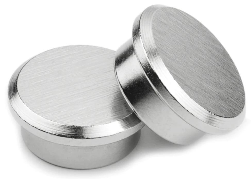 Haft-Magnete Stahl 22mm Set à 10 Stk.