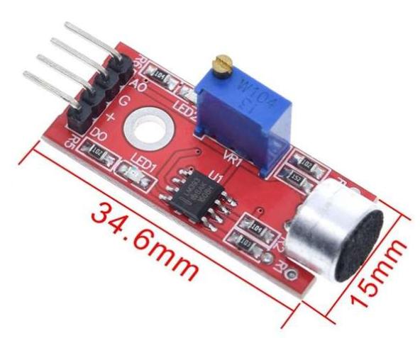 Mikrofon Schallsensor Modul KY-037