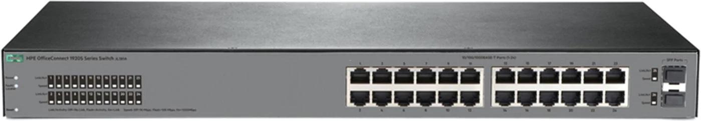 HP 1920S 24x1GE 2SFP Switch 1HE JL381A