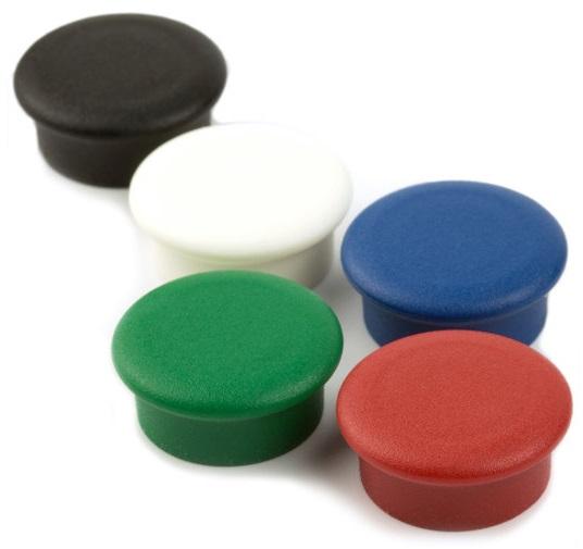 Info Board Magnete farbig Set à 10 Stk.