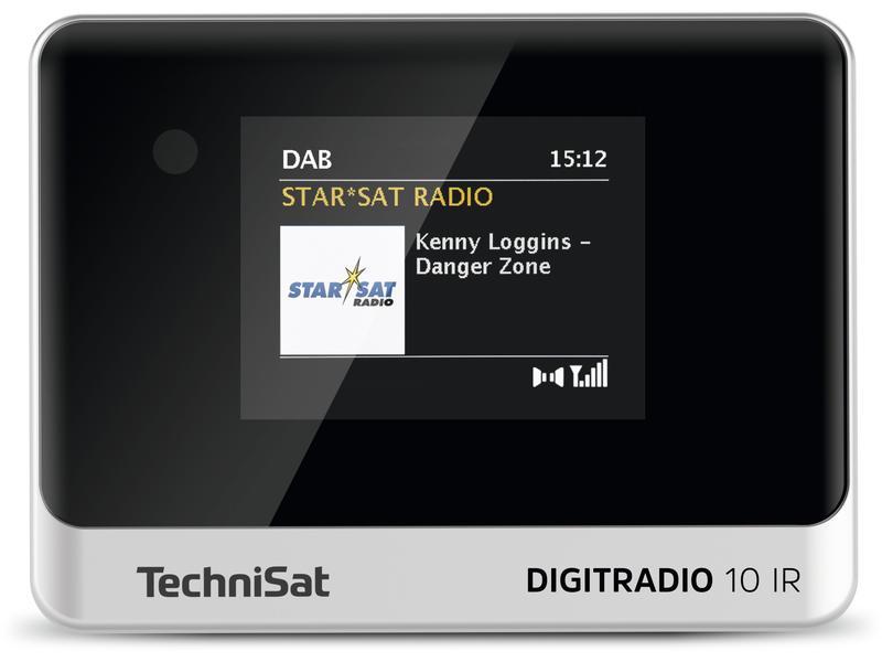 Internet und DAB+ Radio Technisat DigitRadio 10 IR schwarz