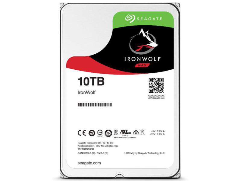 "NAS Synology HDD 10TB 3.5"" IronWolf"