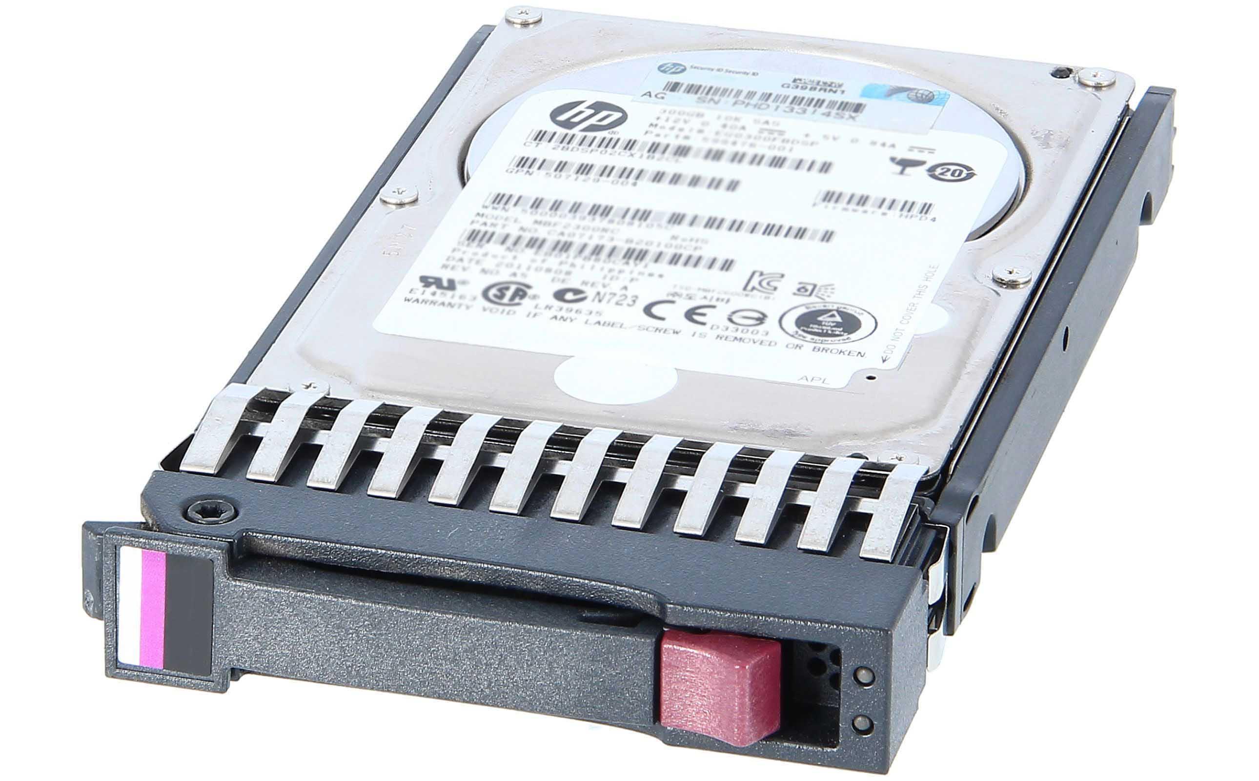 """Festplatte 72GB 10K 2.5"""" SAS HP G5/G6/G7 Occasion"""