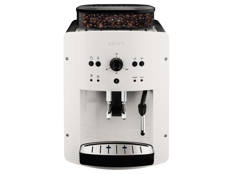 Kaffeevollautomat Krups EA8105 Weiss Kaffeemaschine