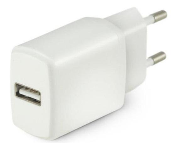 Steckernetzteil USB 5.0V 2.1A weiss gerade Netzteil Stromversorgung