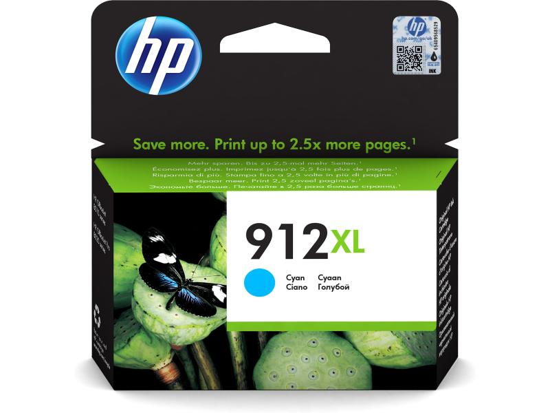 HP OfficeJet Pro 80xx Tinte Cyan 912XL