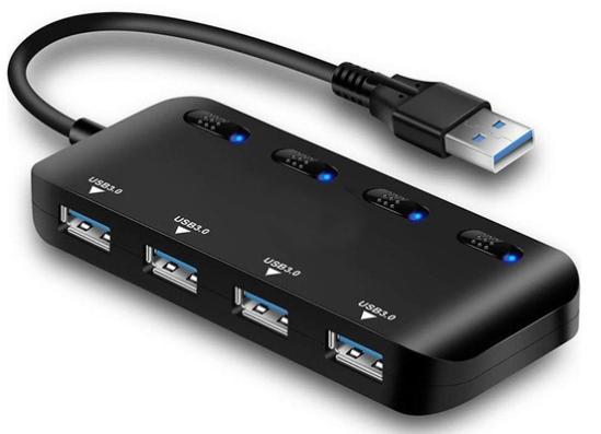 USB HUB 4-Port Mini USB3.0 Bulk