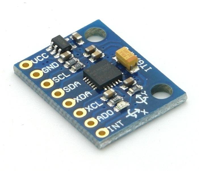 Beschleunigungssensor und Gyroskop MPU-6050 I2C GY-521