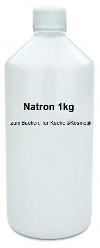 Natron 500g zum Backen, für Küche, Haushalt und Kosmetik