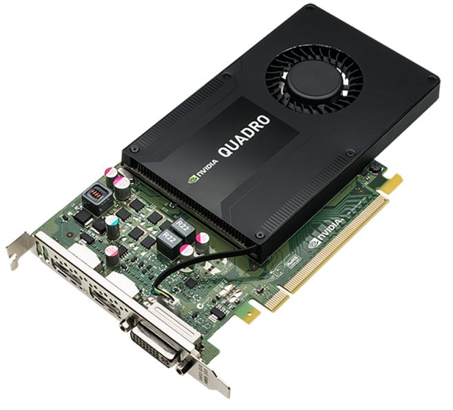 K2200 Nvidia Quadro 2xDP Grafikkarte 4GB Bulk