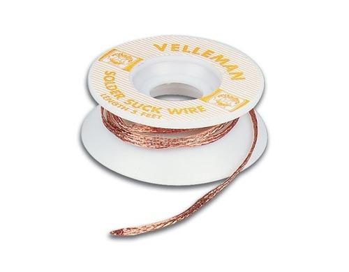 Entlötlitze 2mm 1.5m aus Kupfer Geflecht