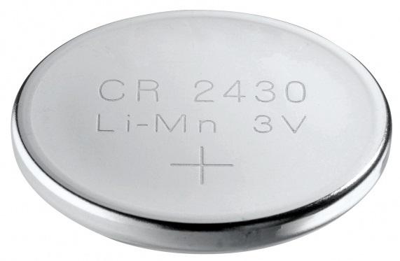 Batterie CR2430 3.0V Lithium 280mAh Knopfzelle bulk