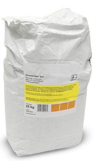 Strahlmittel 25kg Aluminiumsilikat 0.2-0.8mm Sandstrahlen Abrasif
