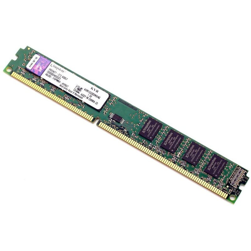 RAM 4GB DIMM PC3-10600 DDR3-1333 Kingston
