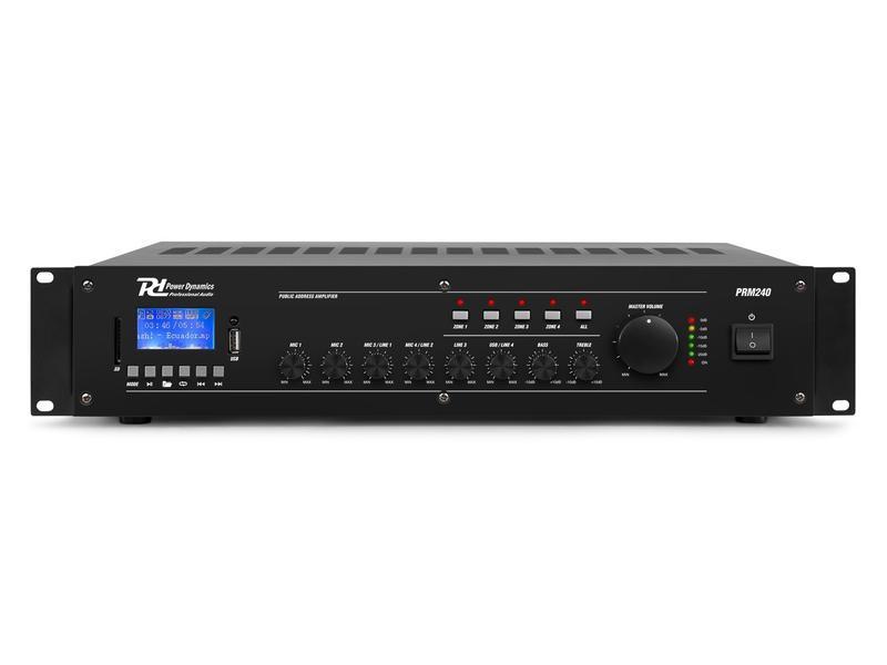 Verstärker Pro PRM240 100V ELA Rack
