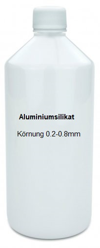 Strahlmittel 1.0 Liter Aluminiumsilikat 0.2-0.8mm Sandstrahlen Abrasif