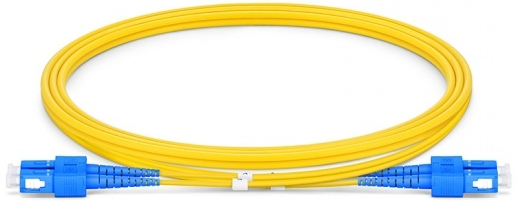 Glasfaser Kabel SC/PC SC/PC 3m singlemode, duplex LWL