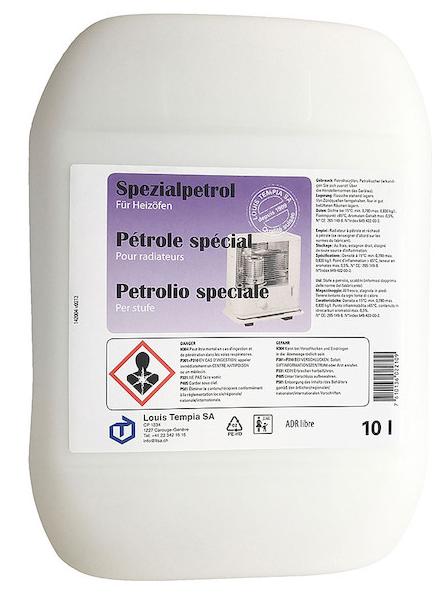 Petrol 10l Petroleum, Paraffin-Öl, Kerosene, Kerosin