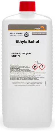 Ethylalkohol Sprit 1.0l für Reinigung Spiritus