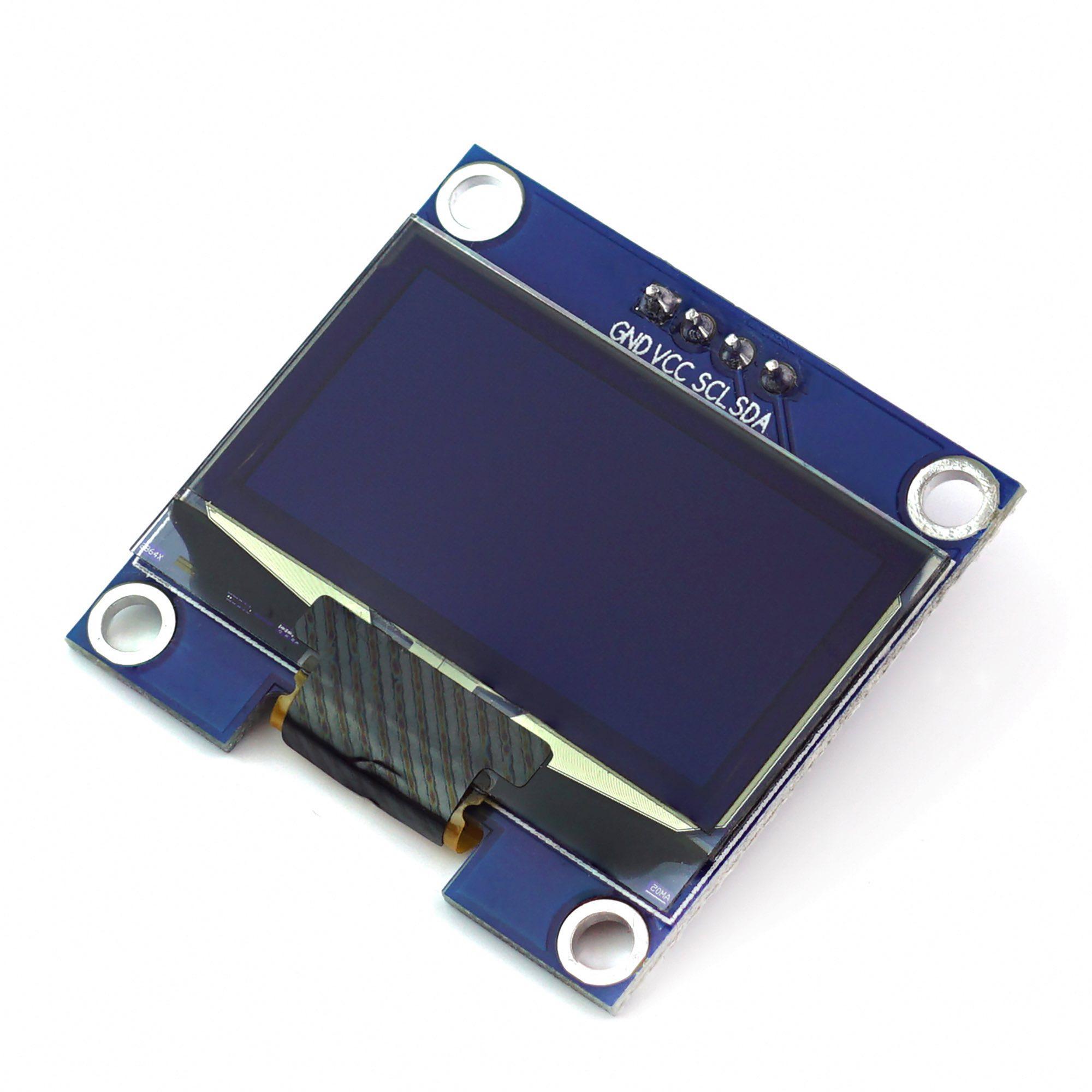 "Anzeige 1.3"" Grafik OLED 128x64 I2C SH1106 blau"