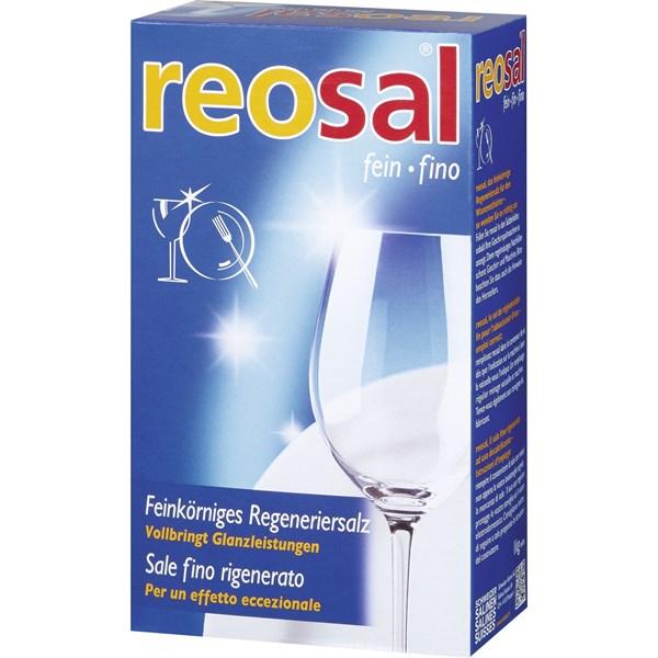 Regeneriersalz 1kg für die Spülmaschine (feinkörnig) Reosal