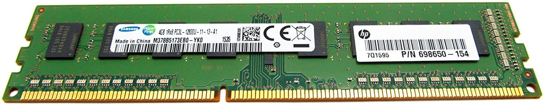 RAM 4GByte PC PC3-12800 (DDR3) CL=11 HP