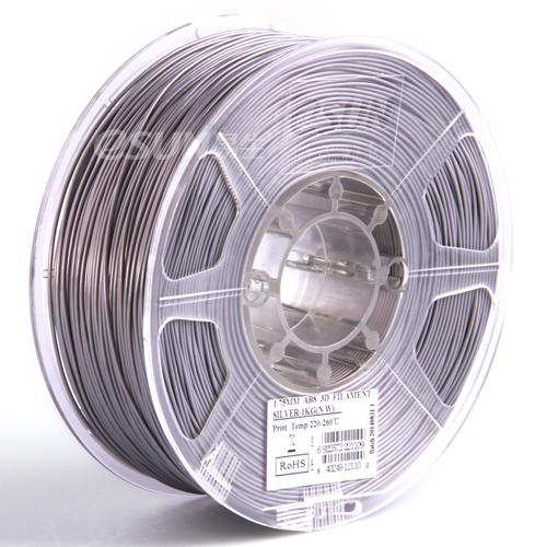 Filament PLA grau 1.75mm 1kg