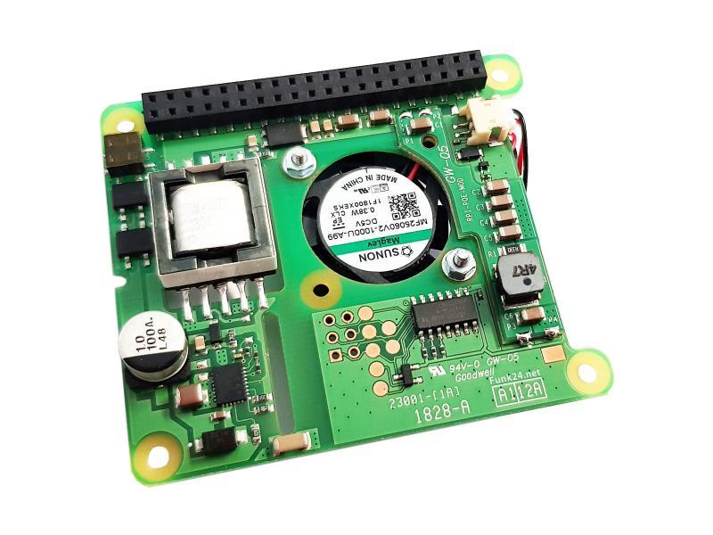 Raspberry Pi PoE Adapter Modul 3B+ & 4B
