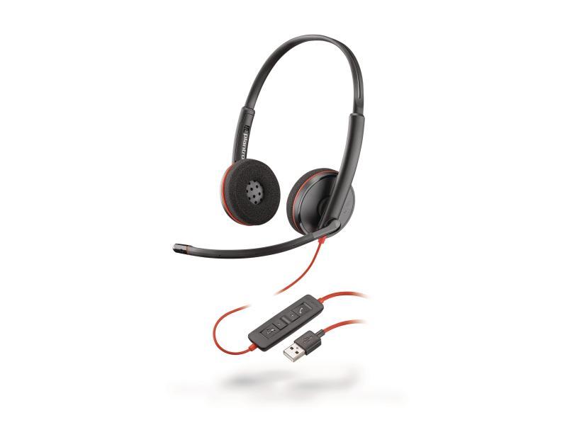 Headset 2xOn-Ear Mic USB Kabelgebunden
