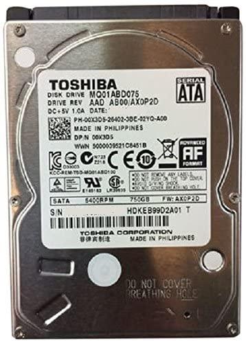 "Festplatte 750GB 2.5"" SATA MQ01ABD075 Occasion"