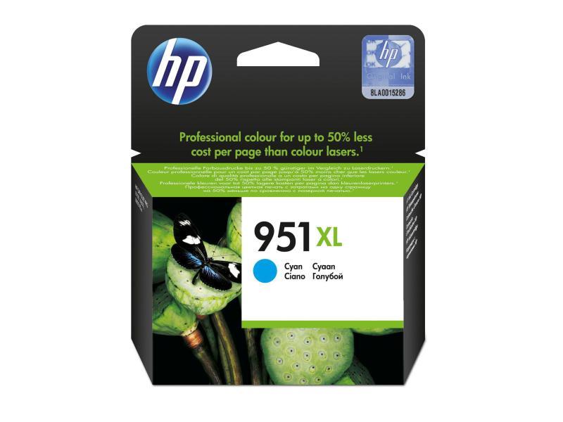 HP Tinte 951XL Cyan (CN046AE) 1500 Seiten