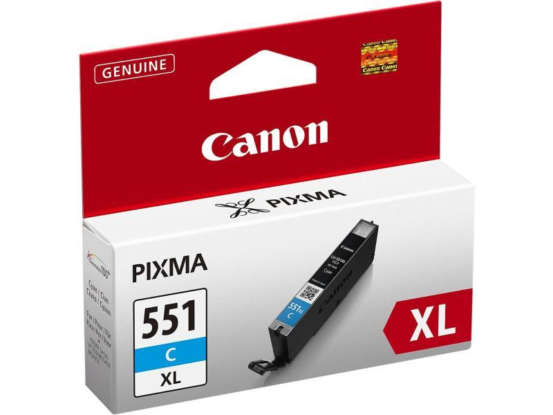 Canon Tinte 551XL Cyan (CLI-551C) 665 Seiten