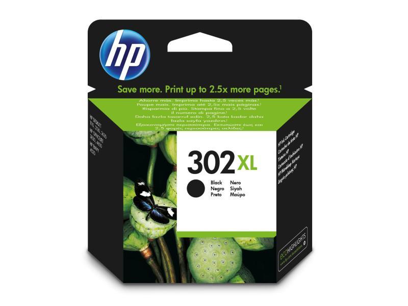 HP Tinte 302XL Black (F6U68AE) 480 Seiten