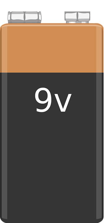 Batterie 9V Block Alkali 6LR61 550mAh bulk