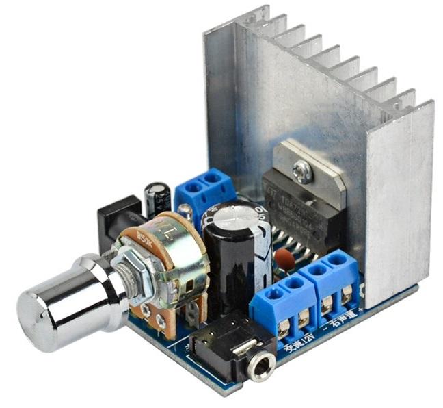 Audio-Verstärker 2x15W FR-9720A TDA7297