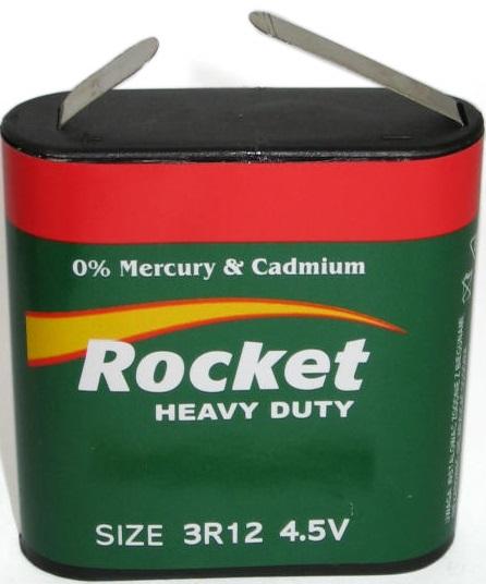 Batterie 4.5V Alkali 3LR12 6'100mAh bulk
