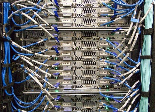 Server Housing 2HE, 10MBit, Power