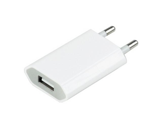 Steckernetzteil USB 5.0V 1.0A weiss gerade Netzteil Stromversorgung