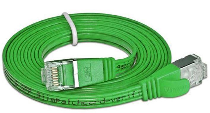 Netzwerk Slim-Patchkabel CAT6, STP, 3.0m, LAN, RJ45, Grün
