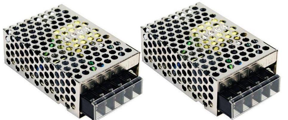 Audio-Verstärker 20W Netzteil 2x24VDC 52.8W RS-25-24