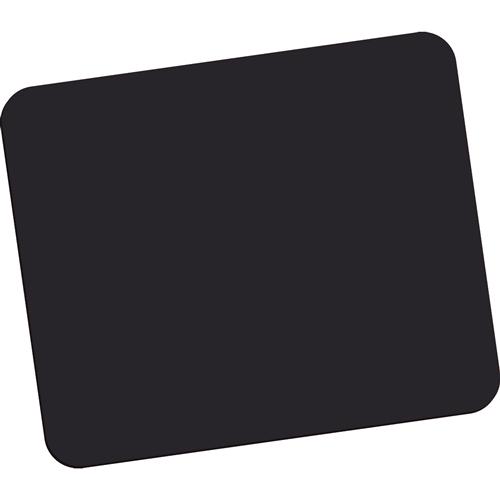 Mausmatte Mauspad schwarz Standard