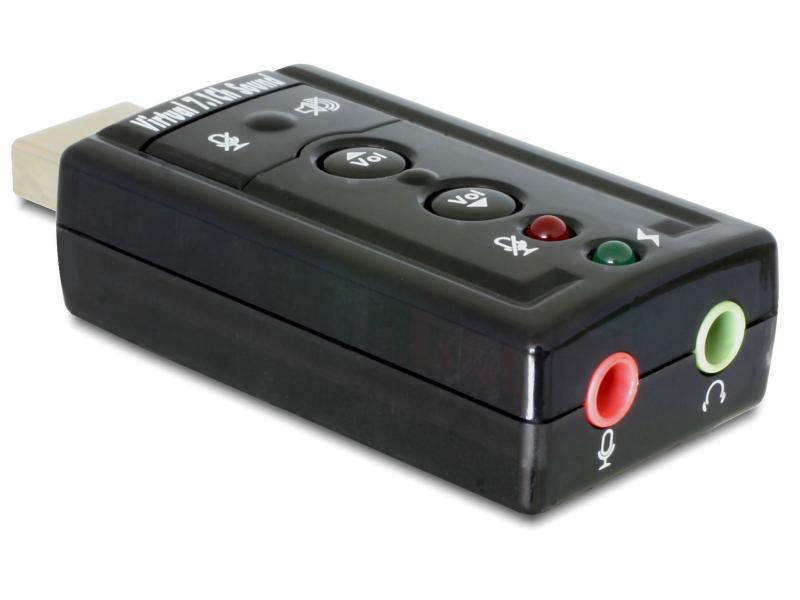 Soundkarte USB, 24Bit/96Khz, 3.5mm In/Out
