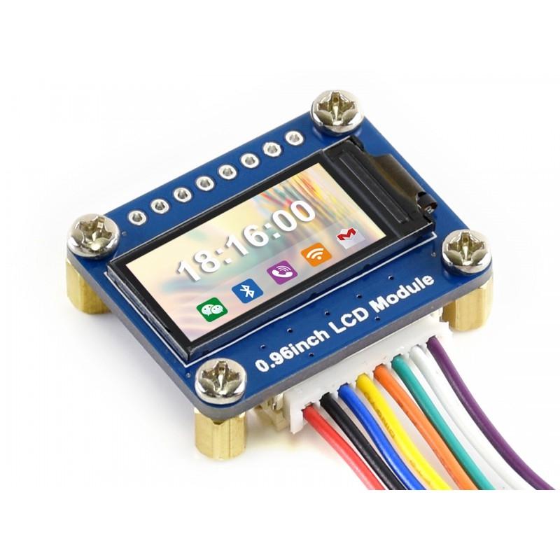 """Anzeige 0.96"""" Grafik LCD Color 160x80 SPI ST77355"""
