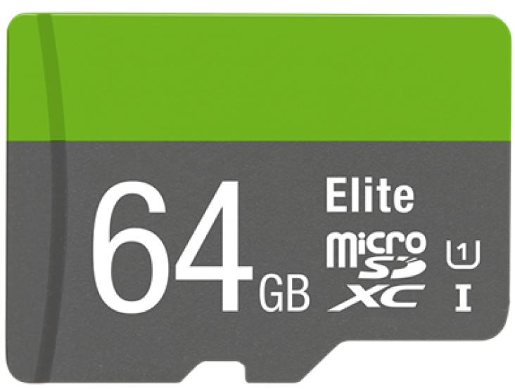 MicroSDHC-Karte  64GB 100MBit