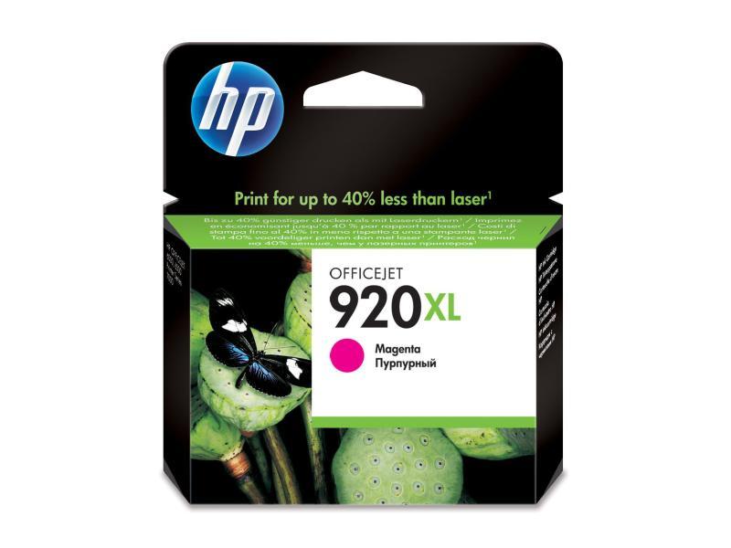 HP Tinte 920XL Magenta (CD973AE) 930 Seiten