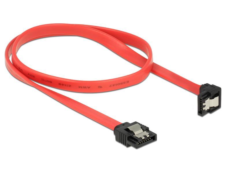 SATA PC Kabel 50cm rot