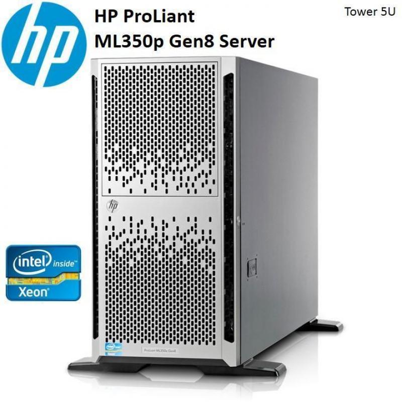 Occasion HP ML350G8 Server 48GB ohne SAS Disks