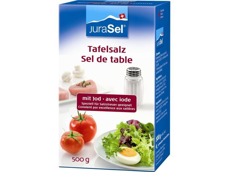 Tafelsatz Speisesalz Jura-Salz 0.5kg
